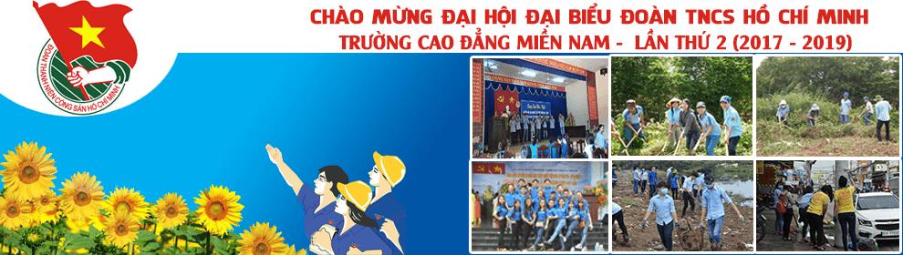 Chào mừng đại biểu đại hội đoàn TNCS Hồ Chí Minh lần 2 (2017 - 2019)