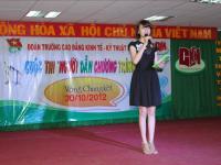 """Ấn tượng vòng thi chung kết  cuộc thi """"Người dẫn chương trình CKM 2012"""""""
