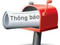 Thông báo Nghỉ lễ Giỗ tổ Hùng Vương (10/03 âm lịch), ngày Giải phóng Miền Nam 30/04 và Quốc tế lao động 01/05