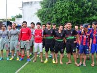 Chung kết giải bóng đá Mini - CKM 2015: 05CĐQT đả bại 06CĐXD trên chấm 11m.