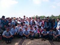 Sinh viên ngành Quản lý đất đai với chuyến đi thực tế bổ ích