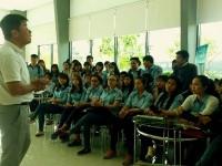 Sinh viên ngành Dịch vụ pháp lý khóa 07,08 trường Cao đẳng Miền Nam với buổi học tập dã ngoại bổ ích