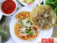 Ẩm thực vùng miền: Bánh xèo tôm nhảy, Bình Định