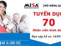 Cơ hội việc làm cho sinh viên các ngành khối kinh tế như Quản trị kinh doanh, Kế toán, Tài chính ngân hàng tại công ty Misa