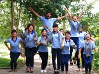 Sinh viên Trường Cao đẳng Miền Nam sôi nổi trong các hoạt động ngoại khóa