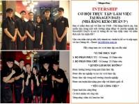 Tuyển thực tập sinh ngành Nhà hàng - Khách sạn tại công ty Cách Sống Quốc Tế