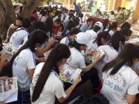 Trường Cao đẳng Miền Nam tham gia tư vấn hướng nghiệp tại trường THPT Nguyễn Văn Thìn, THPT Long Bình, Tỉnh Tiền Giang