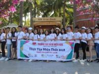 Sinh viên ngành Du lịch, ngành Quản trị nhà hàng, Quản trị khách sạn kiến tập tại SEA LINKS CITY
