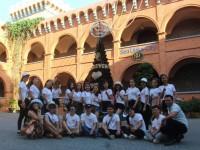 Sinh viên ngành Du lịch, Quản trị nhà hàng - khách sạn thực tập nhận thức tại hầm rượu Vang tại Sea Links City