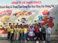 Sinh viên ngành Quản trị nhà hàng và Dịch vụ ăn uống thực tập thực tế tại nhà máy thực phẩm BiBiCa