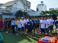 Khai mạc giải bóng đá Mini - Sinh viên trường Cao đẳng Miền Nam