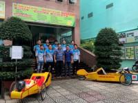 Sinh viên ngành Công nghệ KT ô tô chuẩn bị cho Cuộc thi