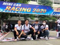 Sinh viên ngành CN Kỹ thuật ô tô tham dự cuộc thi MiniCar Racing