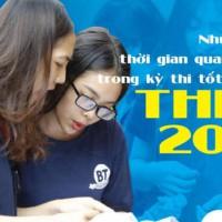 Các mốc thời gian quan trọng cho kỳ thi tốt nghiệp THPT 2021