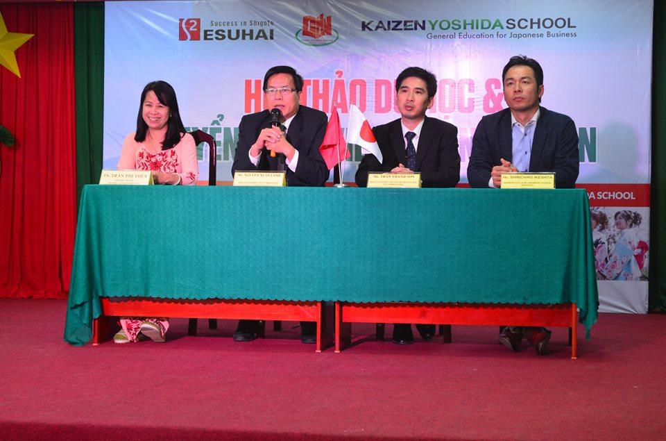 Cao đẳng Miền Nam - Nhật Bản hợp tác quốc tế