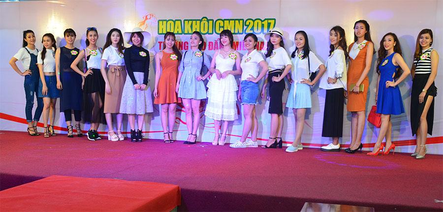 trang phục dạo phố - Hội thi Hoa khôi CMN 2017