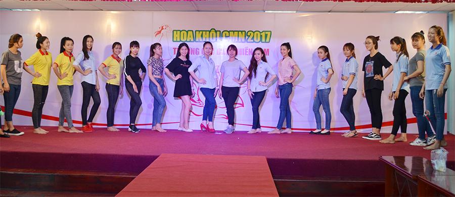 chuẩn bị vòng chung kết hoa khôi cmn 2017