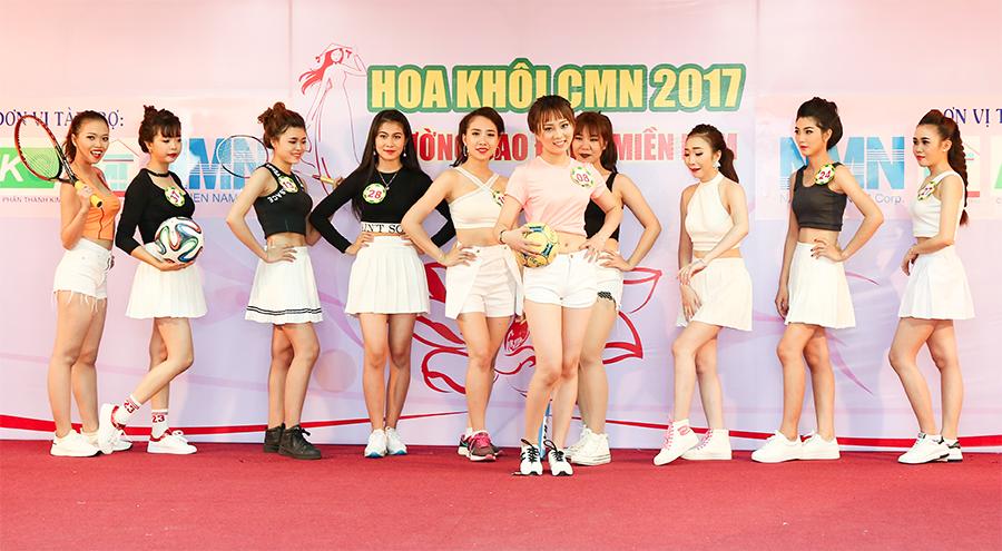 hoa khôi cmn 2017 - trang phục thể thao