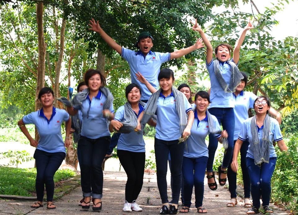 Sinh viên trường Cao đẳng Miền Nam sôi nổi hoạt động ngoại khóa