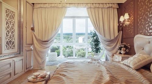 rèm đẹp sang trọng cho khách sạn