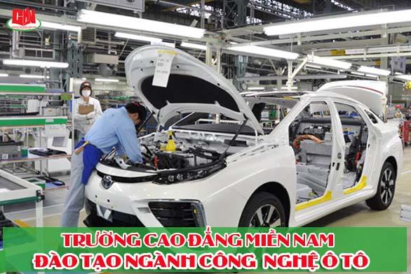 đào tạo ngành công nghệ ô tô