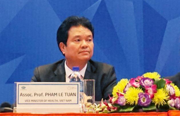 Thứ trưởng bộ y tế Phạm Lê Tuấn
