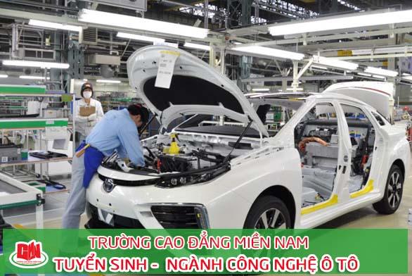 thực hành công nghệ kỹ thuật ô tô