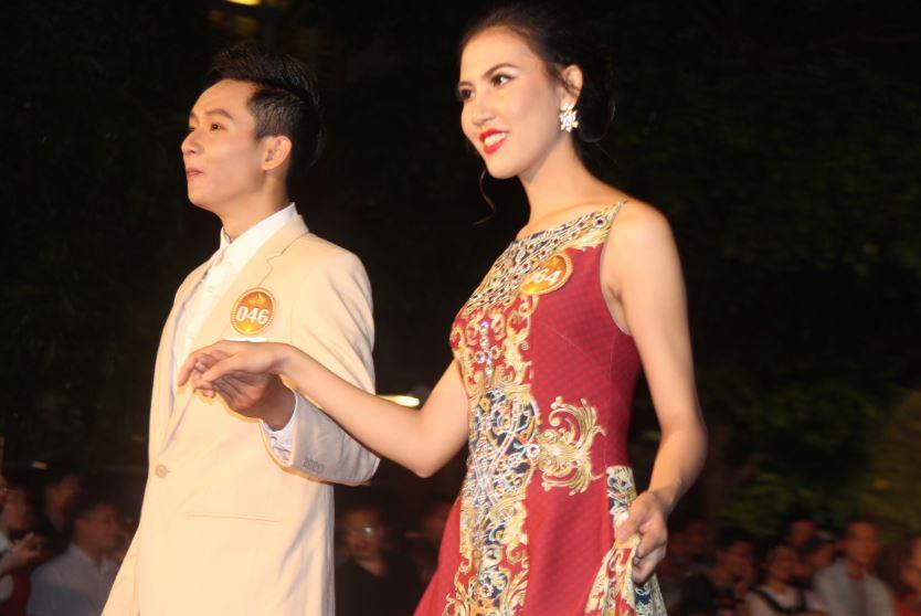 Phương Trang tự tin trong đêm bán kết Nét đẹp sinh viên