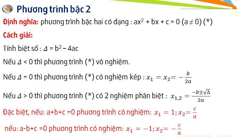 cách giải phương trình ...