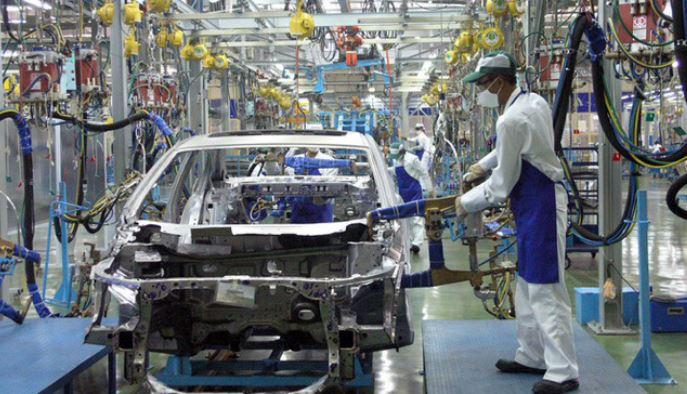 sản xuất ô tô trong nước