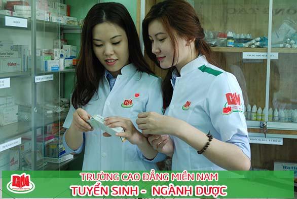 tuyển sinh ngành dược cao đẳng tại TPHCM