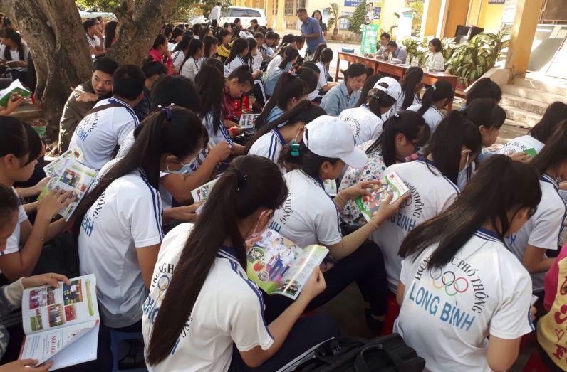 tư vấn tuyển sinh tại THPT Long Bình Tiền Giang