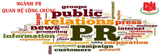 tuyển sinh ngành quan hệ công chúng năm 2019