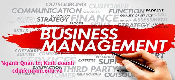 ngành quản trị kinh doanh tuyển sinh 2019