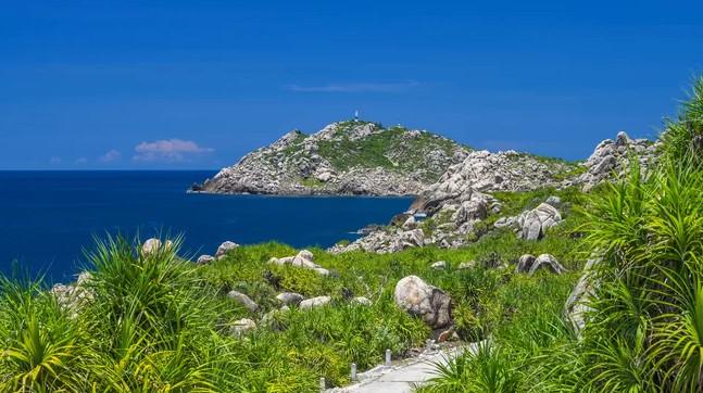 cù lao xanh - những đảo đẹp của Việt Nam