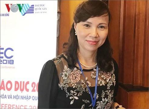 Bà Nguyễn Thị Kim Phụng, Vụ trưởng Vụ Giáo dục Đại học (Bộ GD-ĐT)