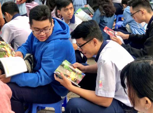 tư vấn tuyển sinh 2021 tại THPT Nguyễn Văn Cừ